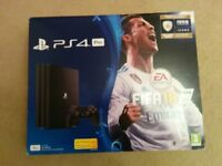 PS4 PRO with fifa 18