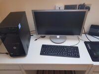 HP PRO PC / 23' AOC Monitor / Keyboard + Mouse / Full set-up