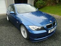 "2007 BMW ALPINA D3 320D MSPORT MONTEGO BLUE E90 M3 19"" STAGGERED ALLOYS DEEP DISH 325D 330D BILSTEIN"