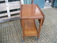 Retro Cantilever trolley Side Table