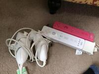 Nintendo Wii remotes bundle