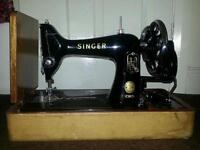 Singer 99k Sewing Machine - immaculate condition