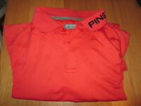 Ping Collection Red Golf Polo (small)