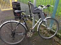 Bycycle with Front Seat for Kid