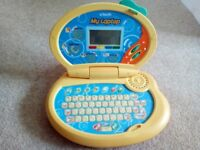 Kids laptop in good working order with light and sound