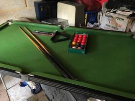 Snooker table - kids