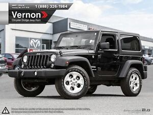 2014 Jeep Wrangler Sport 4WD REMOVABLE ROOF | AUX-IN