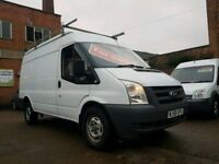 2008 58 Ford Transit 2.4 TDCI RWD T350 MWB High Top - Low Mileage - 3 Months Warranty - NO VAT