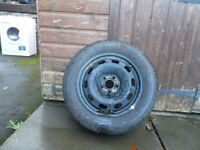 1 vw golf wheel and tyre