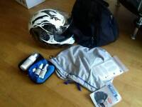 Girls Bike Helmet with Accessories