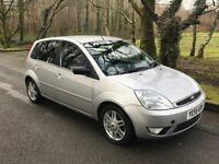 ***FORD FIESTA GHIA 2005/55 ONLY 75,000MILES***