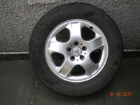 Mercedes Benz ML270 Wheel with tyre