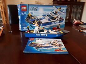 LEGO CITY Police Boat - 7287