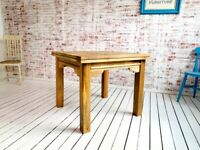Rustic Extending Farmhouse Dining Kitchen Reclaimed Table to Seat Eight People - Contemporary