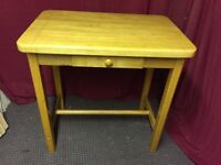 SOLID PINE KITCHEN STOOL TABLE WITH DRAW,CAN DELIVER