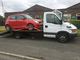 2004 ford iveco 2.8 turbo recovery truck