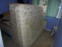 Silentnight divan king size double bed base with Silentnight mattress £20 ONO