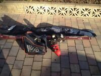 Atomic Skis + bindings + Dachstein boots with bags