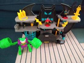 Imaginext Batcave Playset