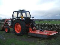 David Brown 1290 with 6Foot Topper (Great condition) No VAT