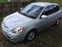 2008 08 Hyundai Accent 1.4 Atlantic Alloys CD AC 3 door HPi Clear £1295 Great value