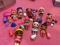 Various LOL dolls for sale