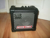 roland micro cube amplifier with effects, a great amplifier
