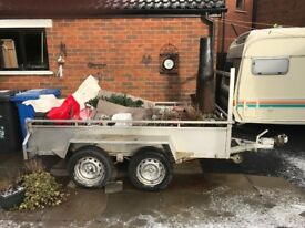 Metal Trailer for sale 8.6 x 4.5 double axle full electrics