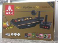 Atari Flashback 8 Gold HD Boxed with 2 Controllers