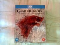 Game Of Thrones Season 1-2 Boxset Blu Ray