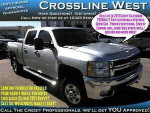2011 Chevrolet SILVERADO 2500HD LT  | Power Options | Impressive