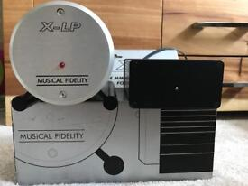 Musical Fidelity x-lp phono stage with external MCRU power supply