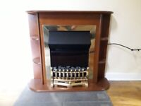 Used electric fire place.