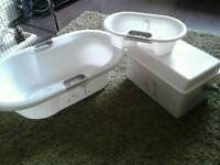 Whinney pooh bath&changing set
