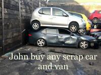 WE BUY ANY SCRAP CAR AND VAN SCRAP MY CAR