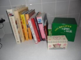 Bundle of cookery books £5 for quick sale