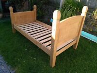 Mexican Pine Single Bed