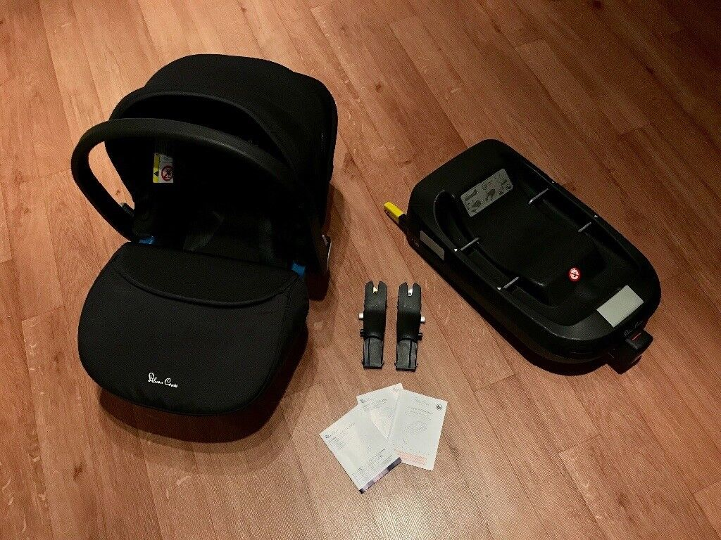 Silver Cross Simplicity Car seat & ISOFIX Base