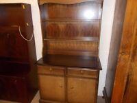 A Stag kitchen dresser