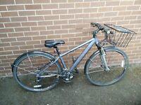 Raleigh gent's hybrid bike, guc