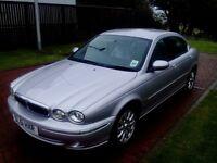 Jaguar X-Type V6 Auto Petrol. 2495cc 4 door saloon. Low Mileage 67,800 Reg 2001