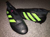 Adidas pure control, black, size 9