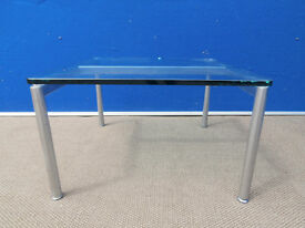 Designer tempered glass coffee table (Delivery possible)