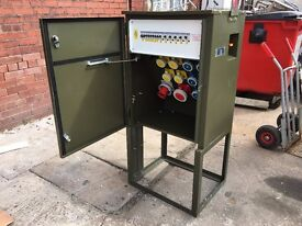 3 PHASE 63amp LOAD DISTRIBUTION UNIT STAGE, SITE, & EVENT PANNEL BOARD
