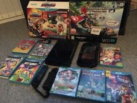 Black Wii U games console bundle