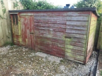 Free: Wooden Dog Kennel / Shed