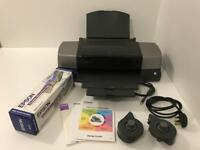 Epson Stylus Photo 1290 A3+ Printer with 10m Roll of Premium Glossy Photo Paper