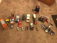 Playmobil job lot - emergency services, pirates, Jeep and horse box plus more