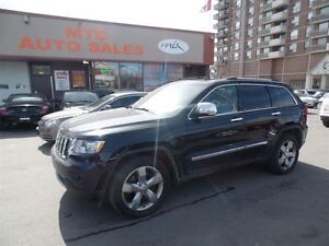 2011 Jeep Grand Cherokee V8, Limited, LEATHER, GPS AND BACKUP CA