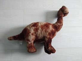 Brown Dinosaur Soft Toy. Medium size. Great condition.